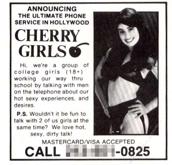 vintage phone sex ads